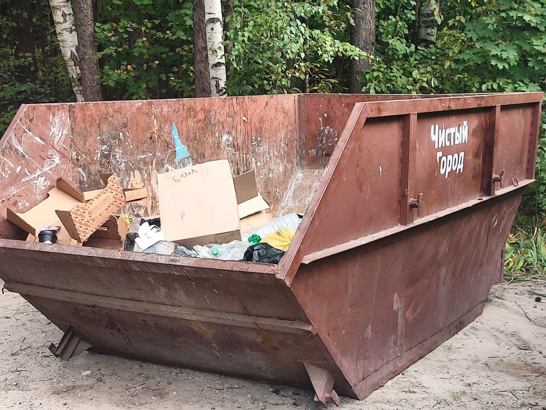 В Марий Эл с мест тушения лесных пожаров собрали около 4 кубов мусора