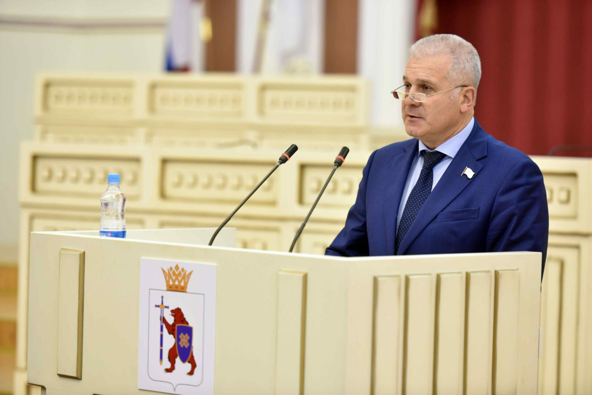 Сенатор от Марий Эл Сергей Мартынов поздравляет с Днём знаний