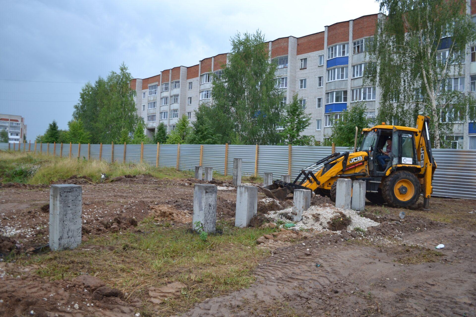 В Козьмодемьянске стартовало строительство нового девятиэтажного дома