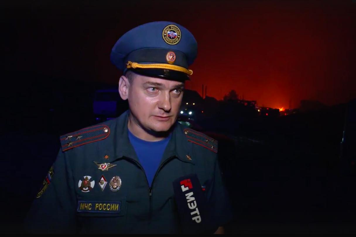 Глава МЧС по Марий Эл рассказал о ситуации с лесными пожарами