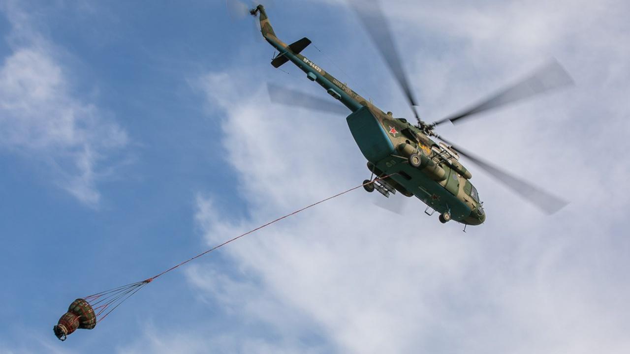В Марий Эл к тушению лесного пожара привлекли еще два вертолета