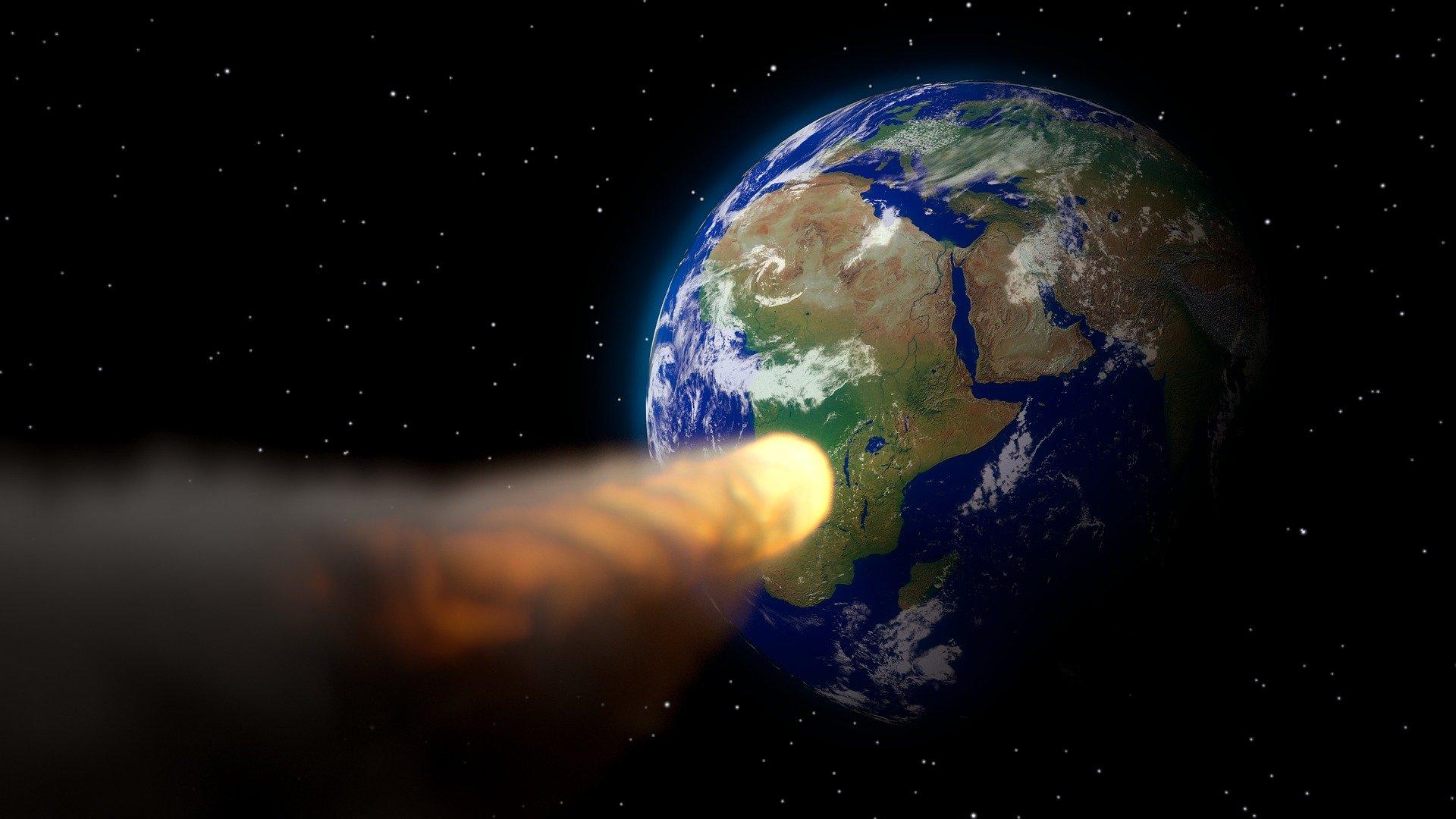 В Китае обнаружен кратер от падения гигантского метеорита 49 тысяч лет назад