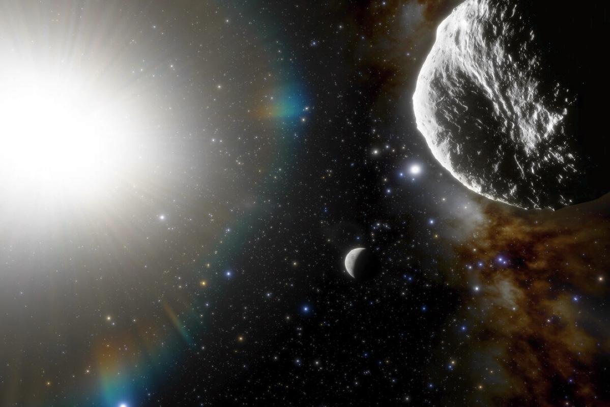 Найден самый быстро вращающийся астероид в Солнечной системе