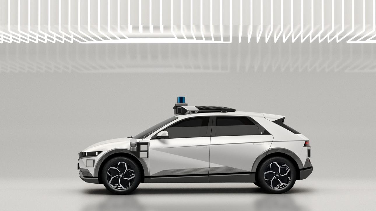 Hyundai превратила электромобиль Ioniq 5 в роботакси