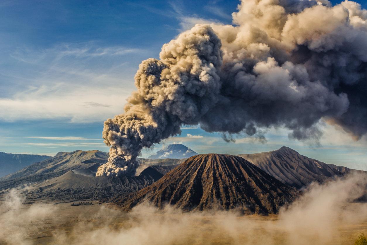 Даже незначительные выбросы вулканов могут стать катастрофическими для человечества