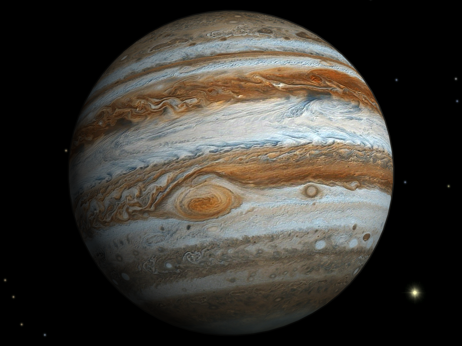 Новые наблюдения разрешили энергетический кризис атмосферы Юпитера
