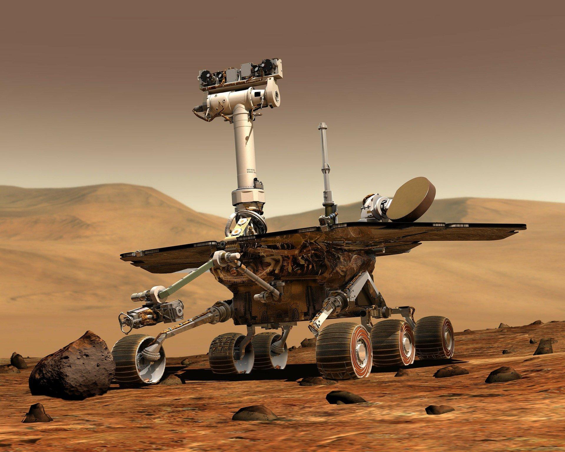 Из-за пыли на поверхности Марса снег может слишком быстро растаять
