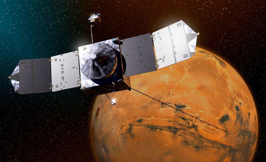 Радиоактивное убежище бактерий обнаружили на Марсе