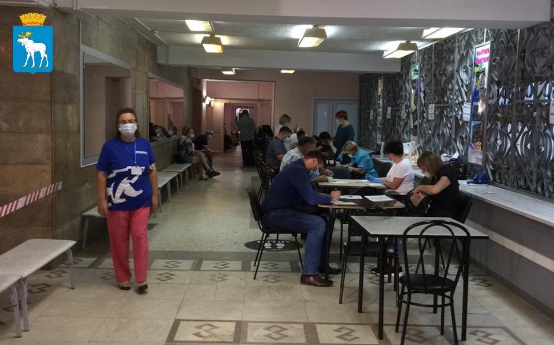 В столице Марий Эл Центр вакцинации от COVID-19 работает и в выходные