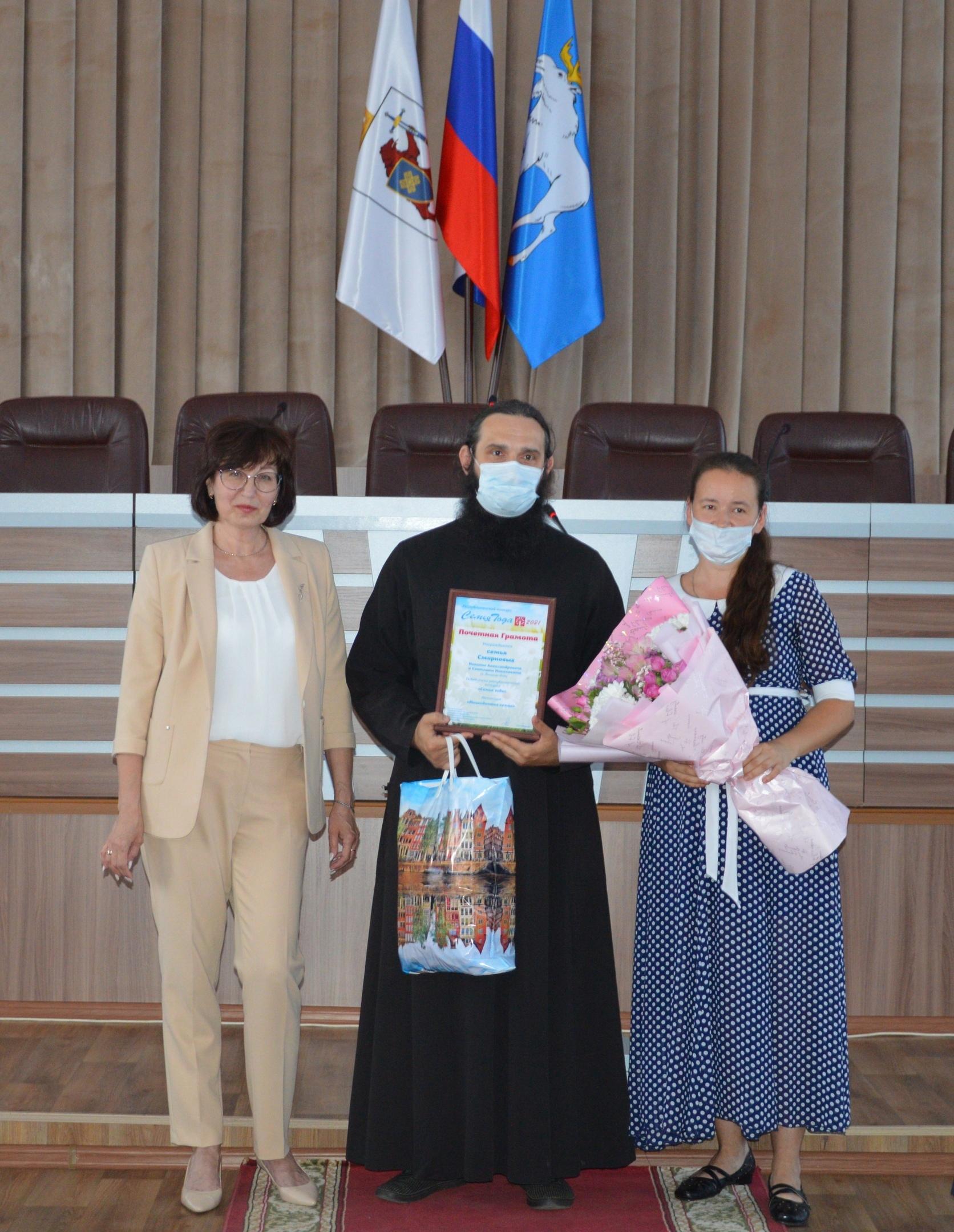 Семья Смирновых из Йошкар-Олы вошла в перечень победителей в конкурсе «Семья года»