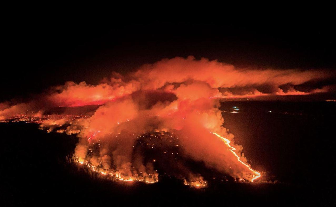 Лесной пожар в Марий Эл: хронология событий