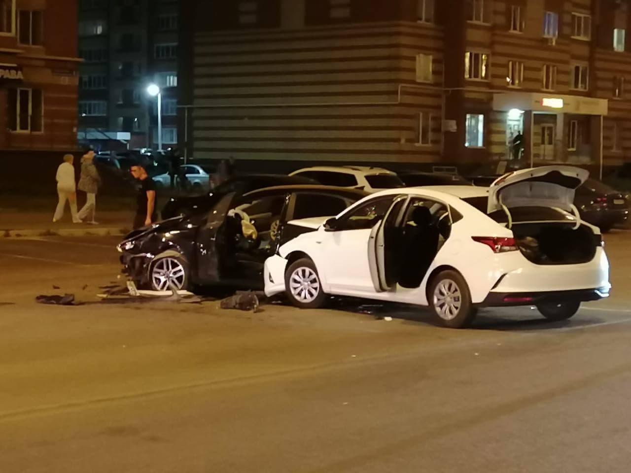 В Йошкар-Оле в ДТП по вине нетрезвого водителя пострадали три человека