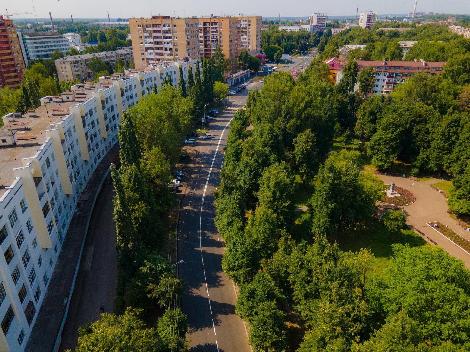 Глава Марий Эл торжественно ввел в эксплуатацию улицу Советскую в Йошкар-Оле