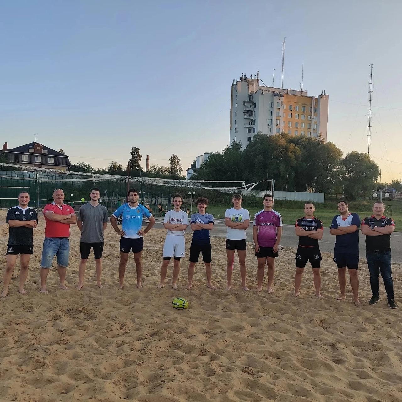 Команда из Марий Эл готовится к финалу Чемпионата РФ по пляжному регби