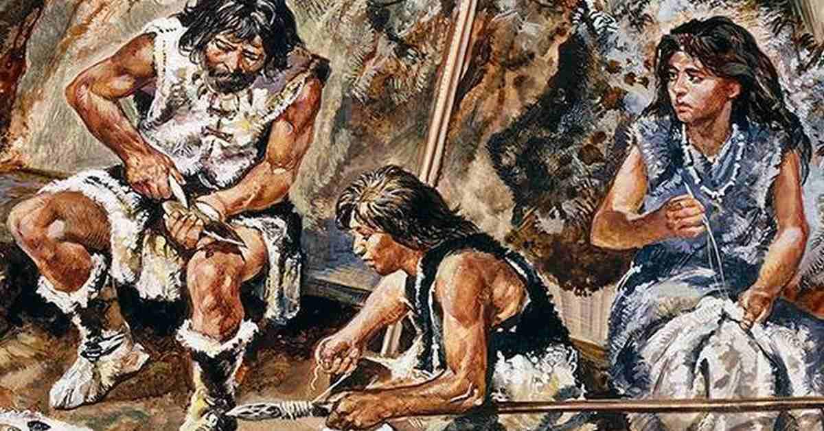 Предки Homo sapiens 90 тысяч лет назад обрабатывали шкуры инструментами из костей