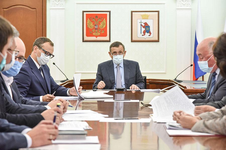 Глава Марий Эл принял участие в совещании Полпреда Президента РФ в ПФО