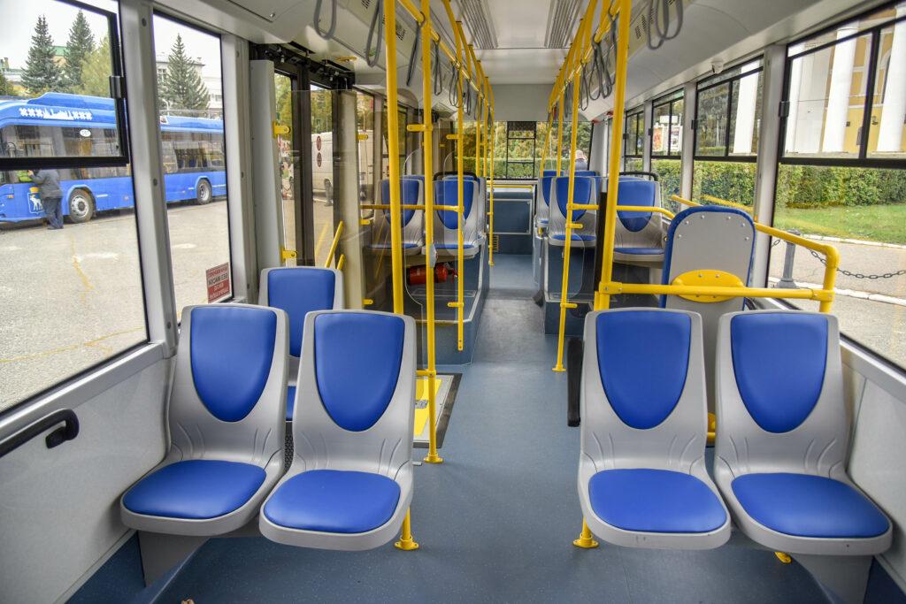 Впервые за 27 лет в Йошкар-Олу поставлено сразу 10 новых современных троллейбусов