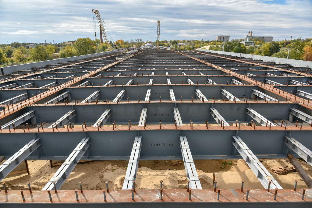 В рамках строительства объездной дороги в Йошкар-Оле будет смонтирован мост через реку Малую Кокшага