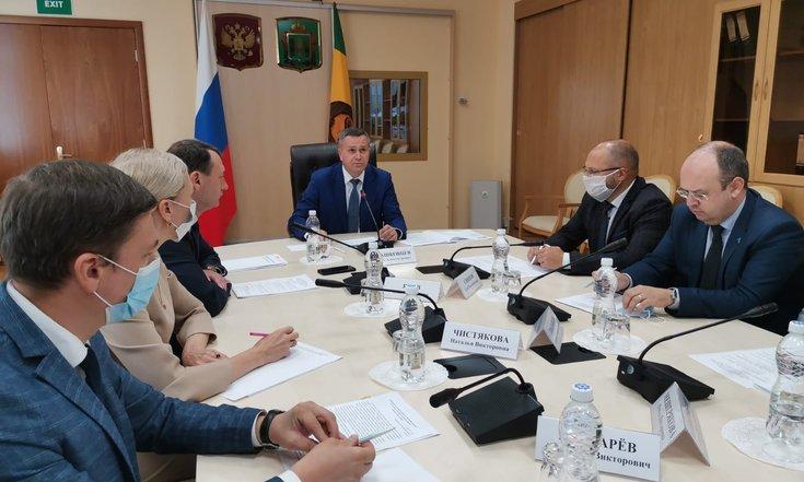 Олег Машковцев провел совещание по подготовке Российско-китайского молодежного форума