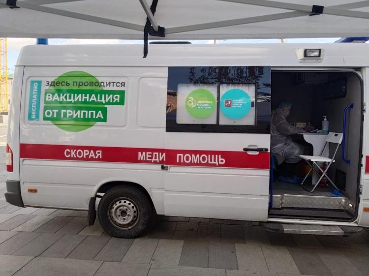 Жителей Козьмодемьянска будут прививать от COVID-19 на вещевом рынке