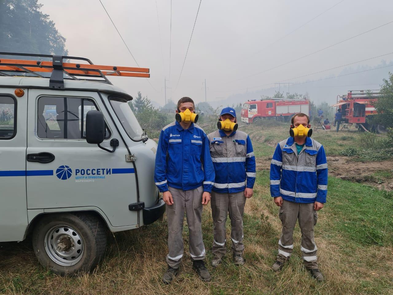 Глава Марий Эл поблагодарил Игоря Маковского за помощь в борьбе с лесными пожарами