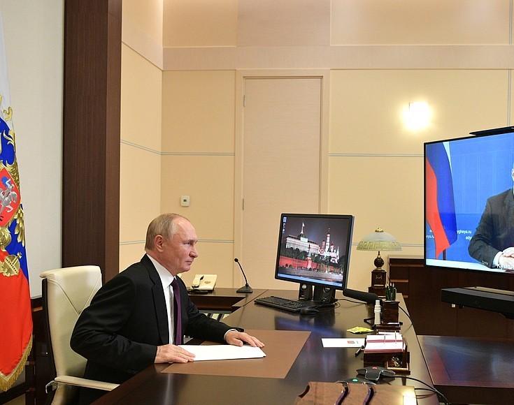 Владимир Путин проведет онлайн-встречу с Александром Евстифеевым