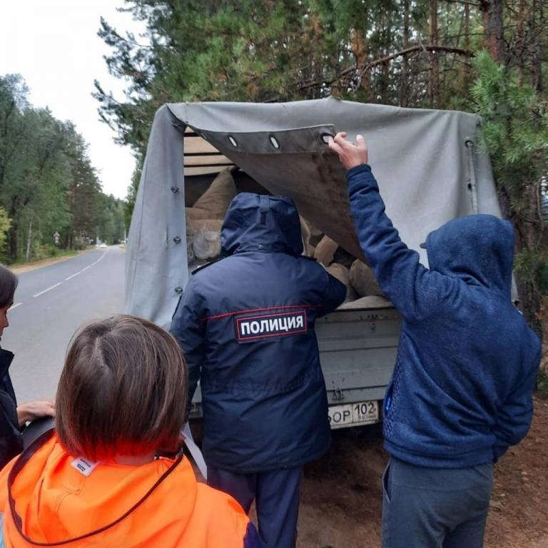 Жители Башкирии воровали боровую матку в Нацпарке «Марий Чодра»