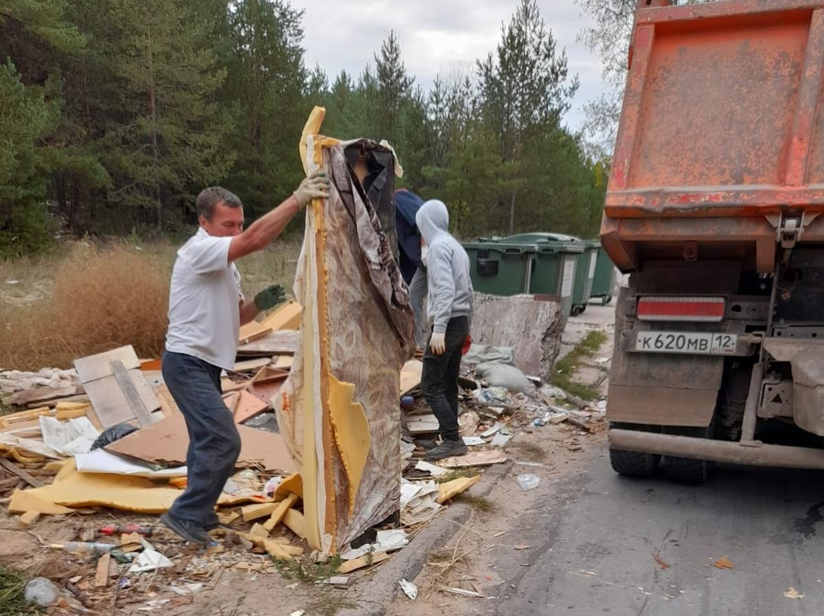 Акцию «Чистый город» провели в Волжске