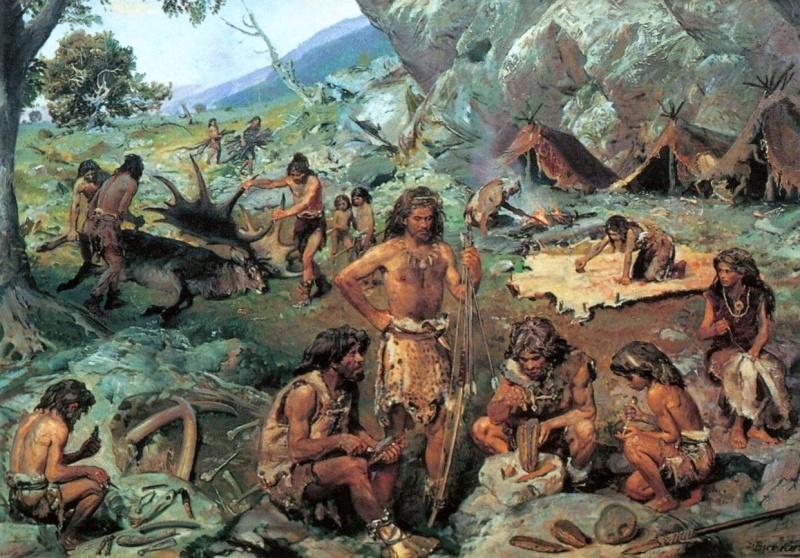 Следы кроманьонцев нашли в древнем озере в Нью-Мексико