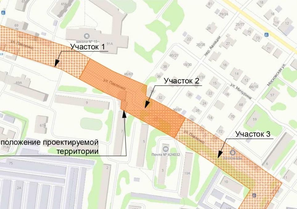 В Йошкар-Оле на «Ремзаводе» в 2022 году благоустроят пешеходную зону