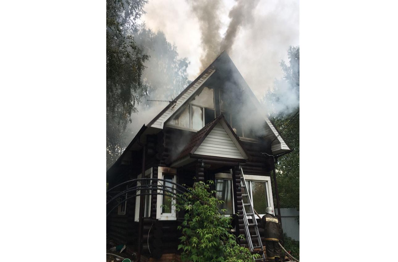 В Марий Эл за прошлую неделю на пожарах погибли два человека