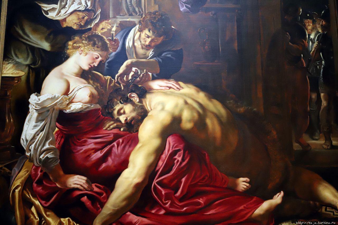 ИИ назвал картину Рубенса «Самсон и Далила» подделкой
