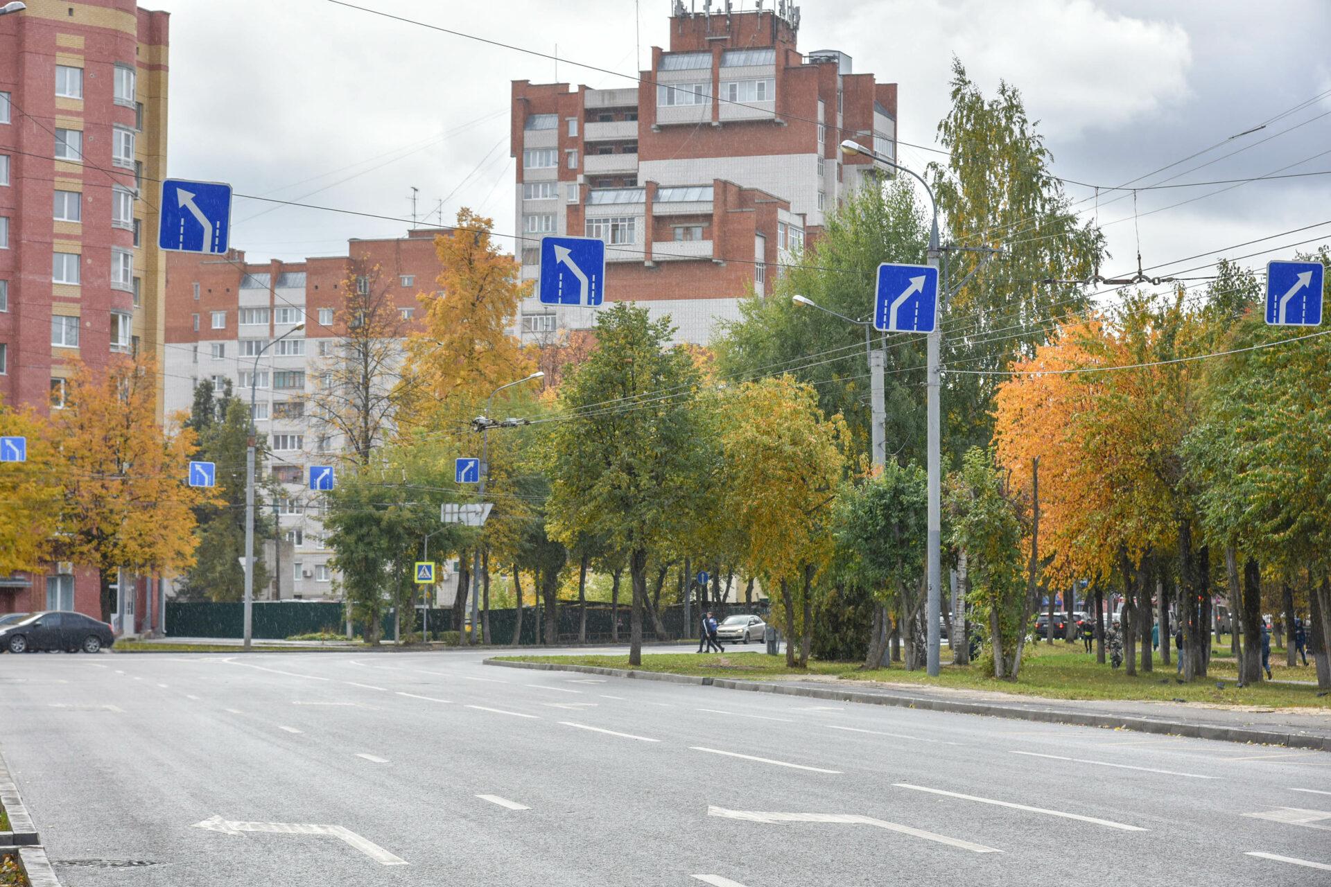 В Йошкар-Оле дорогу по ул. Машиностроителей сдали раньше срока