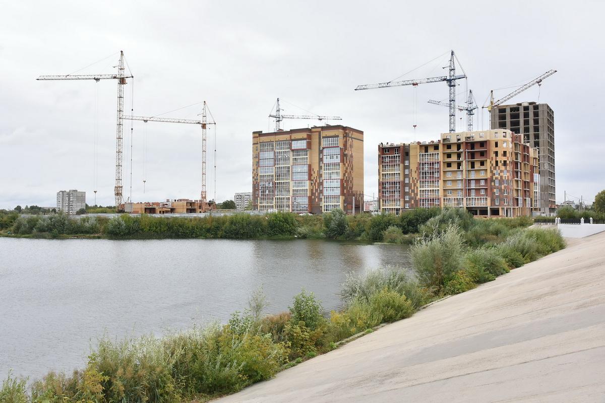 В Йошкар-Оле будет продолжена реконструкция набережной на правом берегу Малой Кокшаги