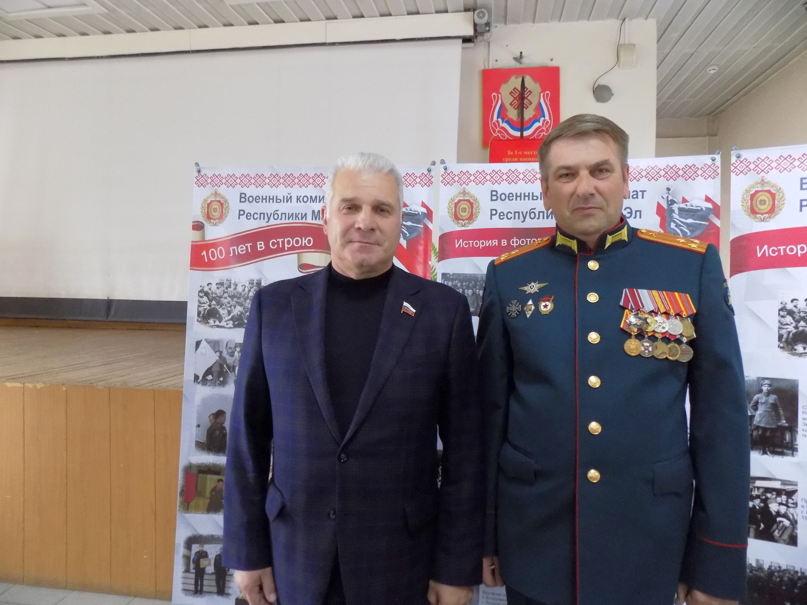 Сенатор Сергей Мартынов отметил важную роль военкоматов в обеспечении обороноспособности России
