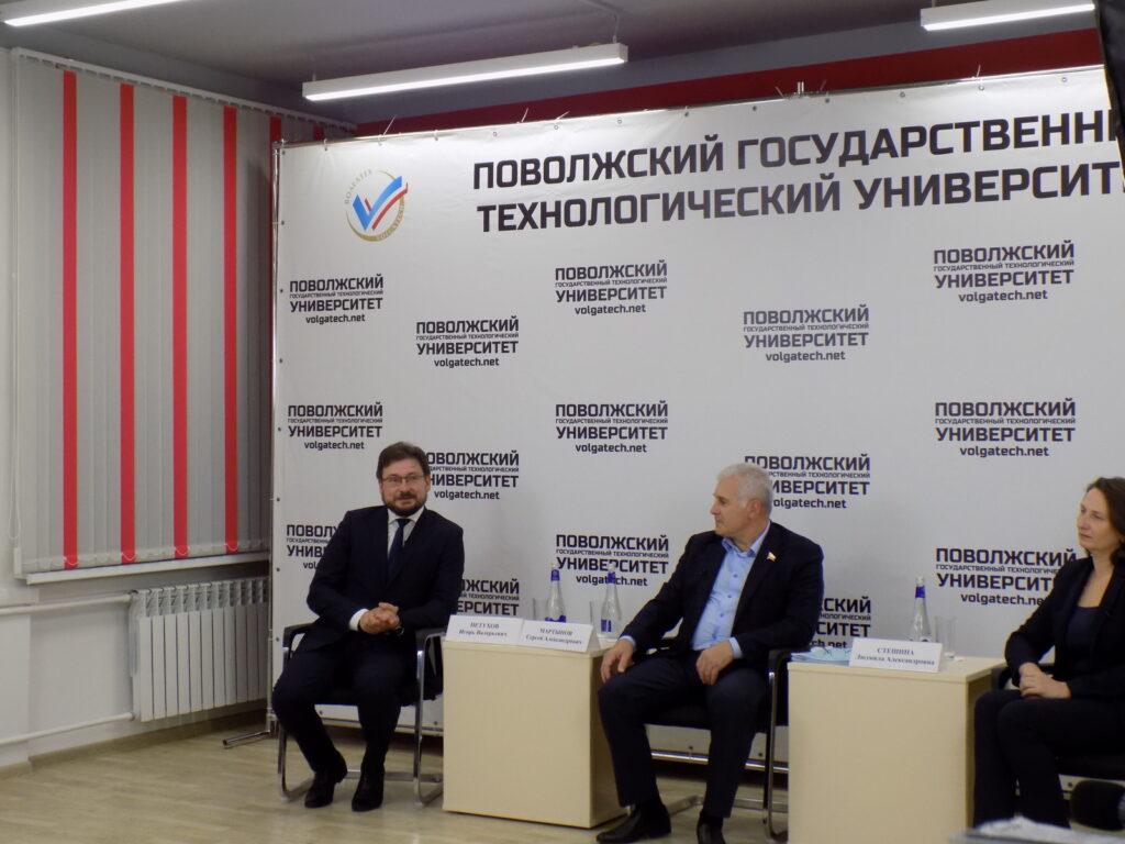 Сенатор Сергей Мартынов посетил Волгатех