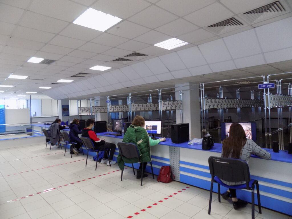 В Центре общественного наблюдения ведётся постоянное видеонаблюдение за избирательными участками Марий Эл