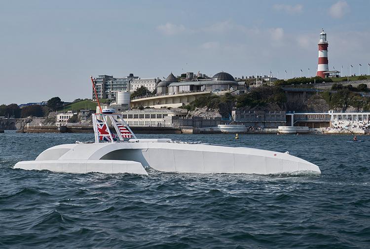 Автономный корабль IBM повторит маршрут судна «Мэйфлауэр»