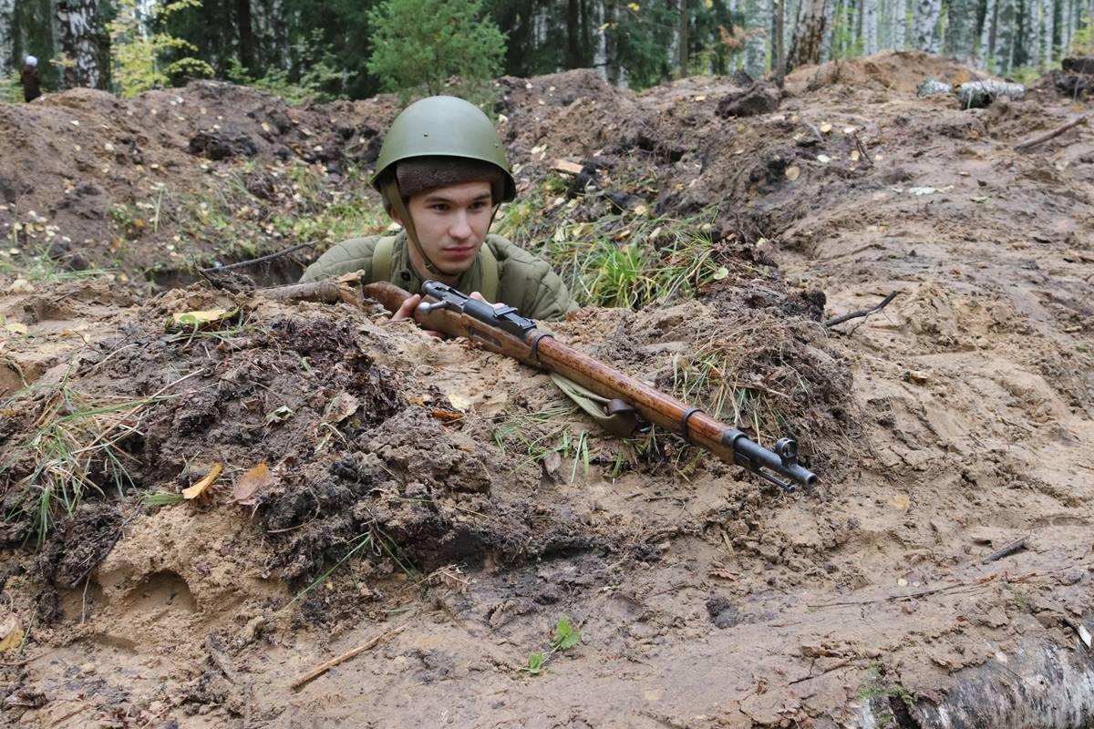 В Марий Эл на Волжском рубеже войска Красной армии отразили атаку Вермахта