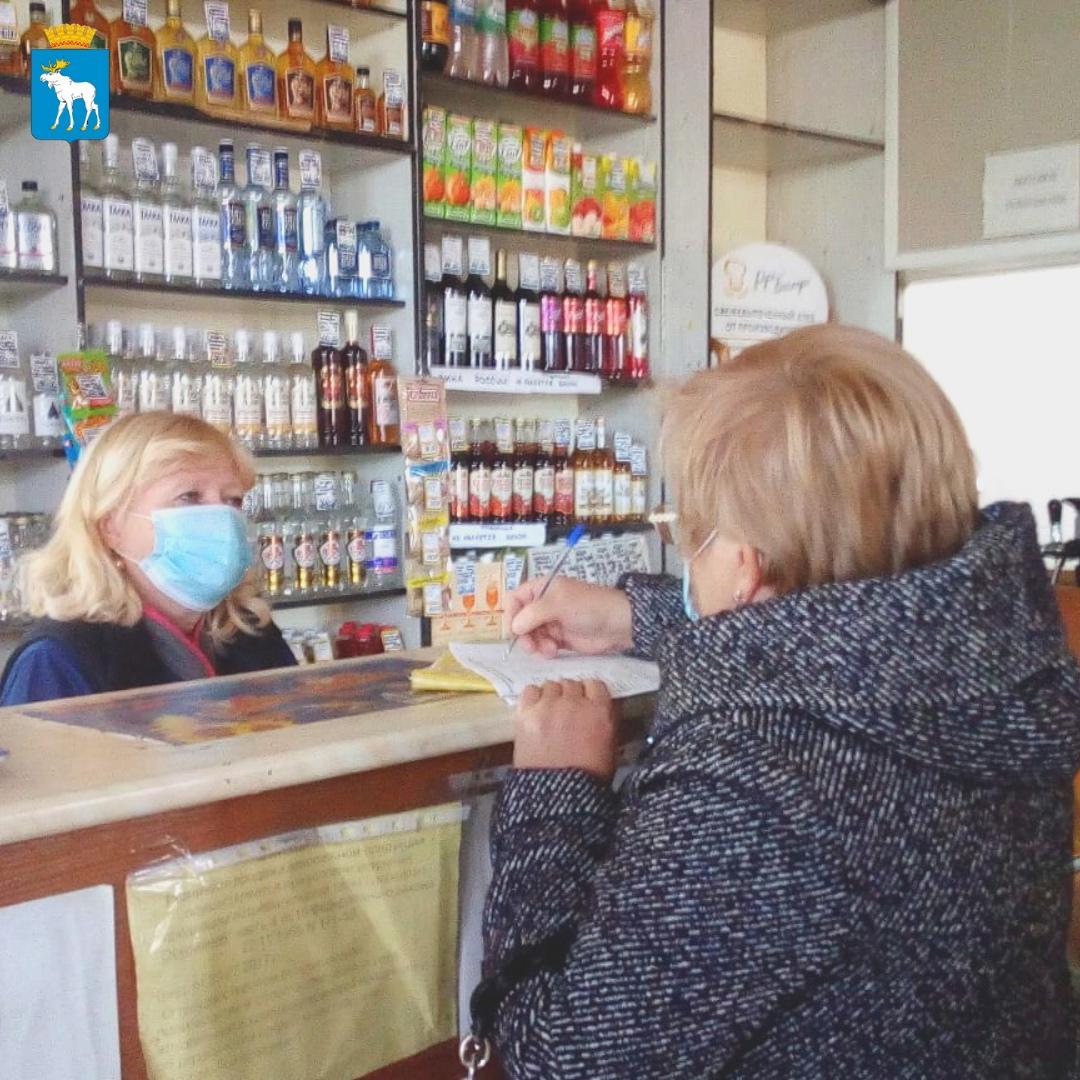 Рейды по соблюдения антиковидных мер продолжаются в Йошкар-Оле