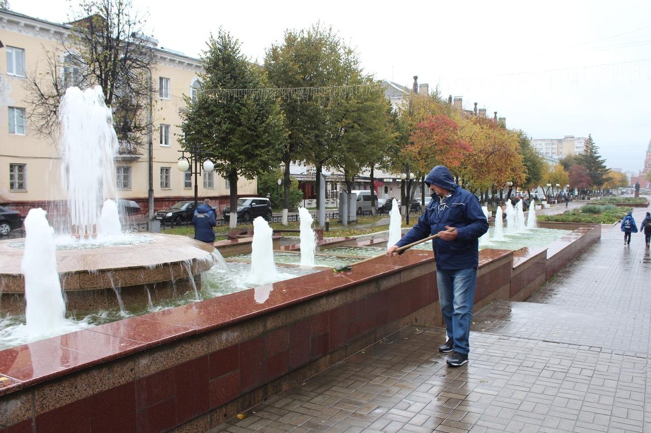 В Йошкар-Оле 30 сентября отключат фонтаны на время зимы