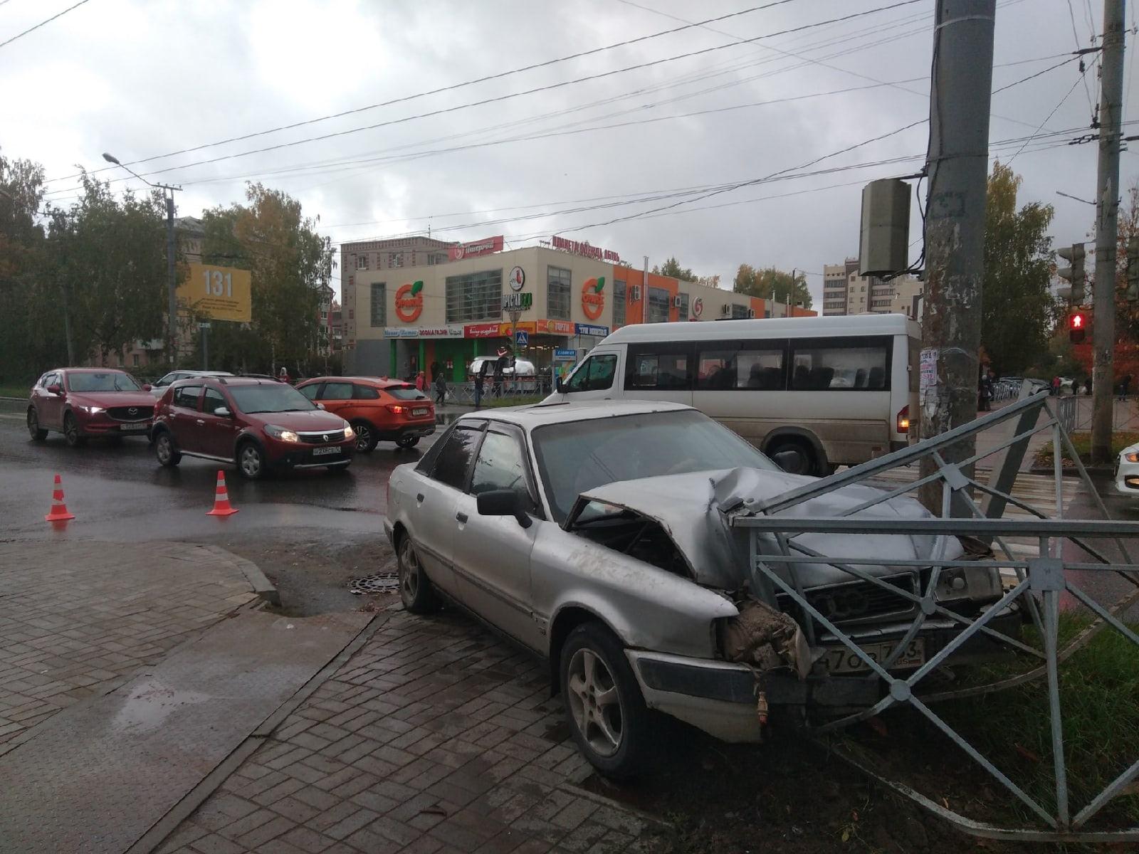 25 сентября в Йошкар-Оле в ДТП пострадали две девочки