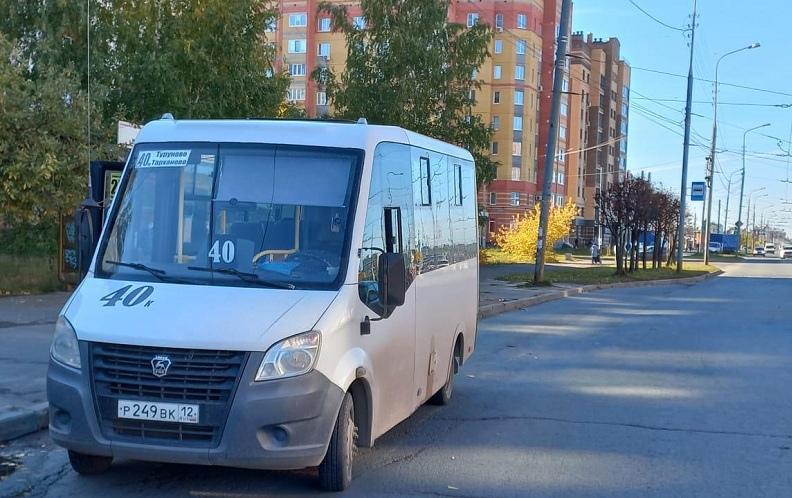 28 сентября в Йошкар-Оле два пассажира были травмированы в маршрутках