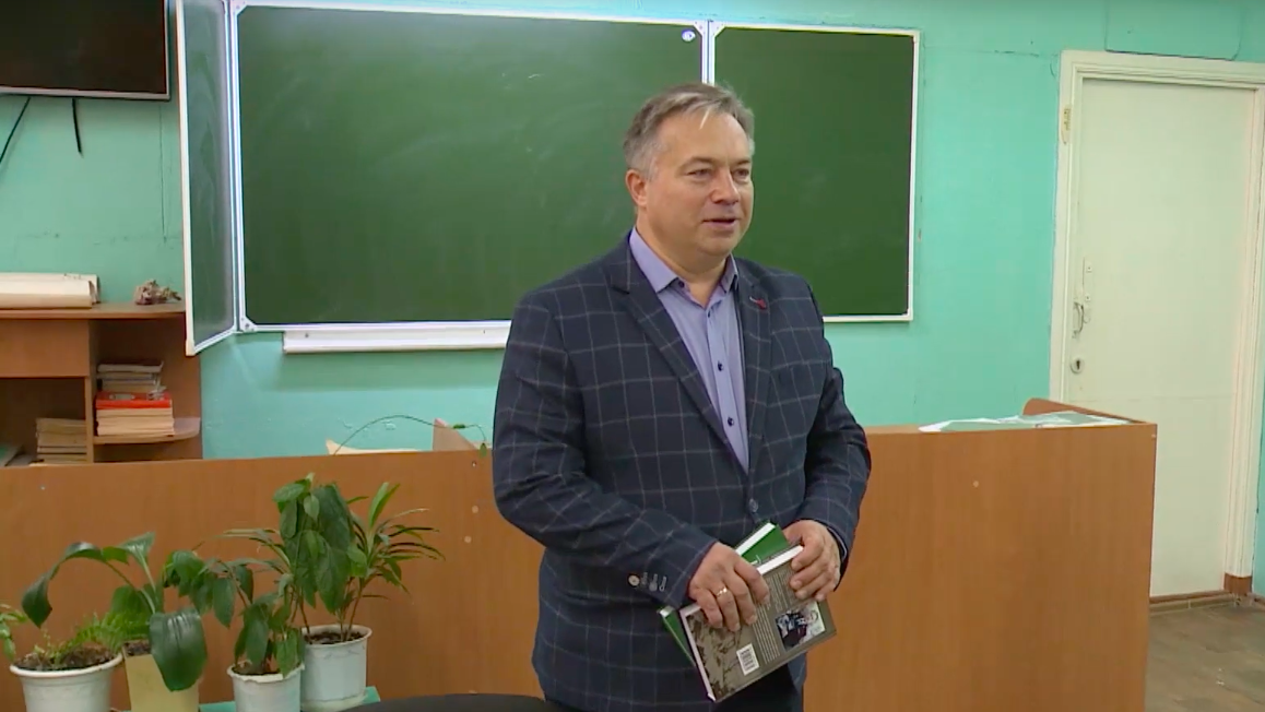 В Йошкар-Оле писатель Алексеев презентовал книгу «Ген мужества»