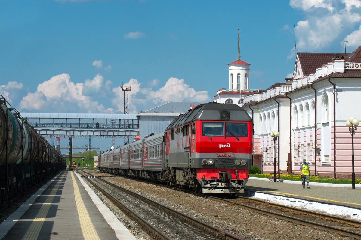 График пригородных поездов в Марий Эл изменится из-за перехода на зимний режим