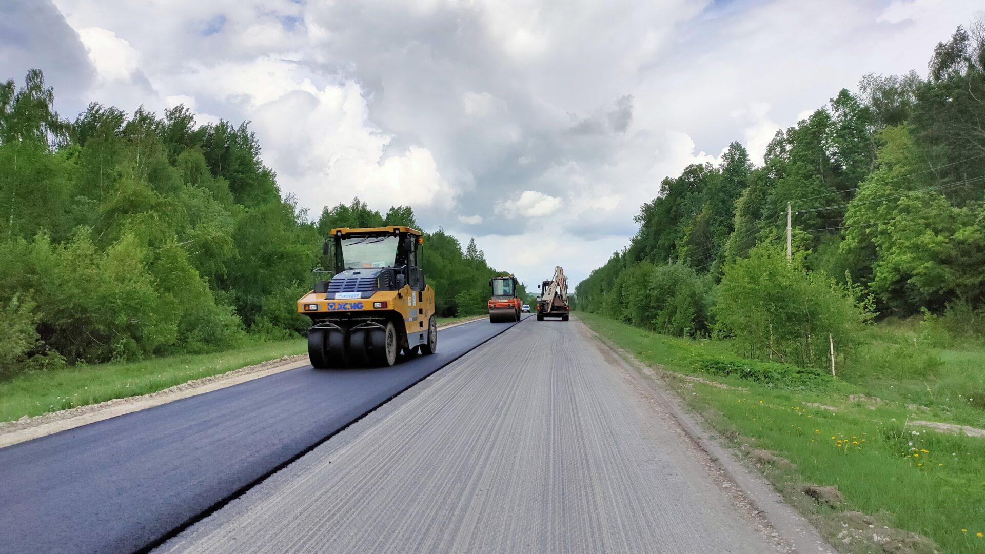 В Марий Эл завершен ремонт дороги «Красный Мост – Килемары – Шаранга»
