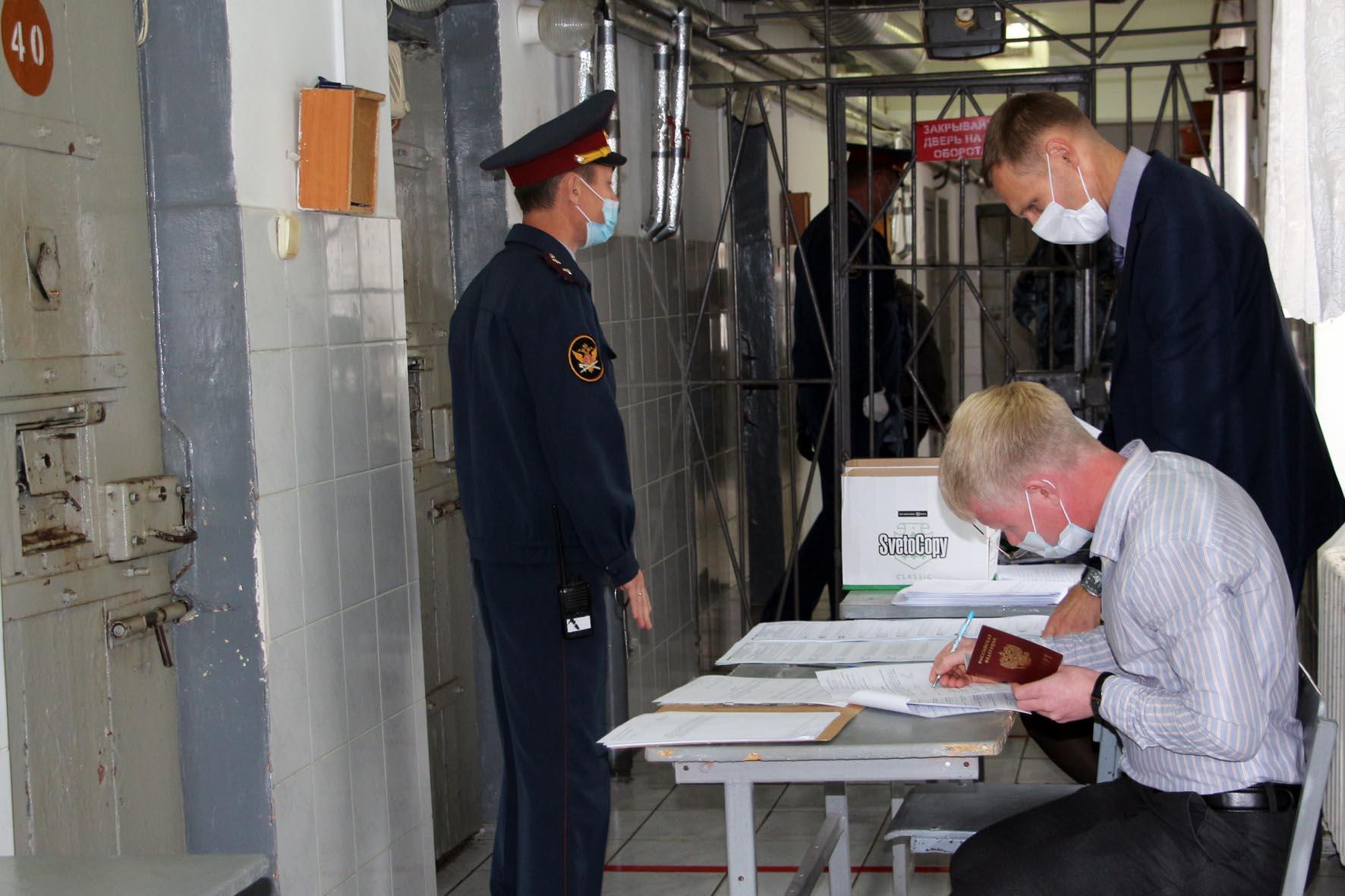 Выборы в йошкар-олинском следственном изоляторе УФСИН России по Республике Марий Эл прошли без нарушений