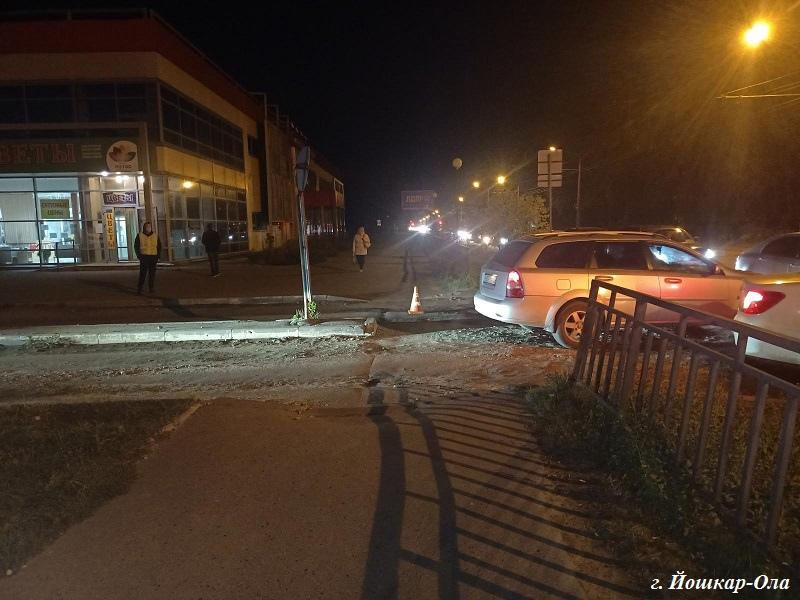 В Марий Эл вечером в среду на дорогах пострадали 2 пешехода