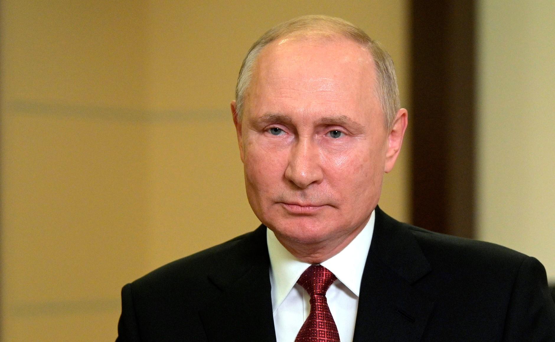 Путин выступил перед россиянами с обращением перед выборами в Госдуму