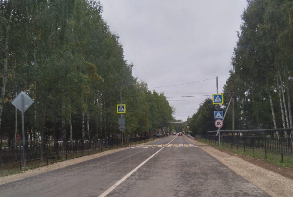 На четырёх улицах в Оршанке появился новый асфальт